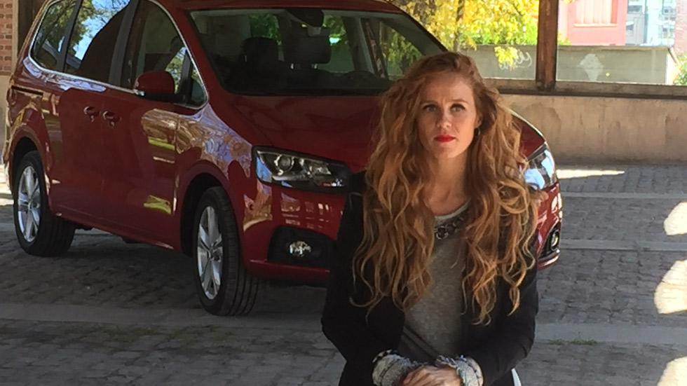 María Castro, actriz, bailarina... y conductora