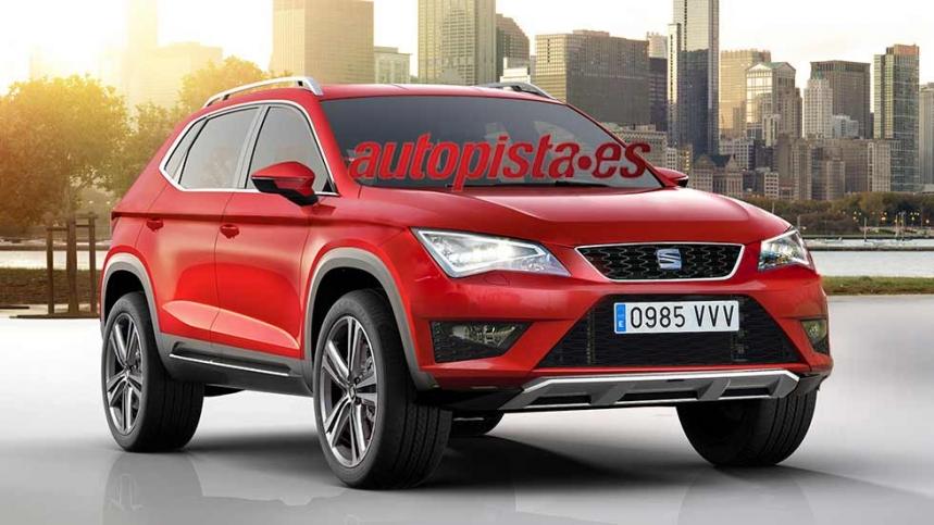 Seat Ateca, ¿el nombre del nuevo SUV compacto español?