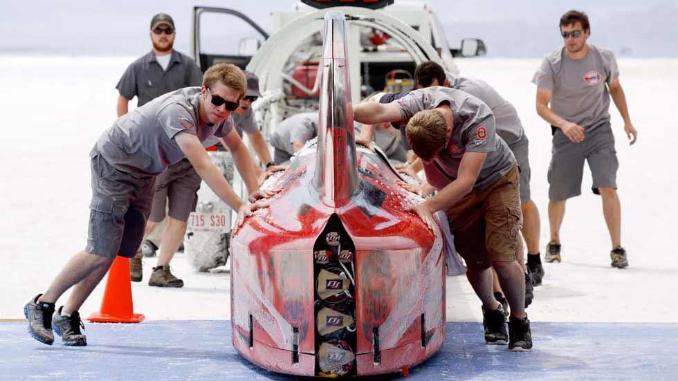 El eléctrico Venturi VBB-3, listo para batir de nuevo el récord de velocidad