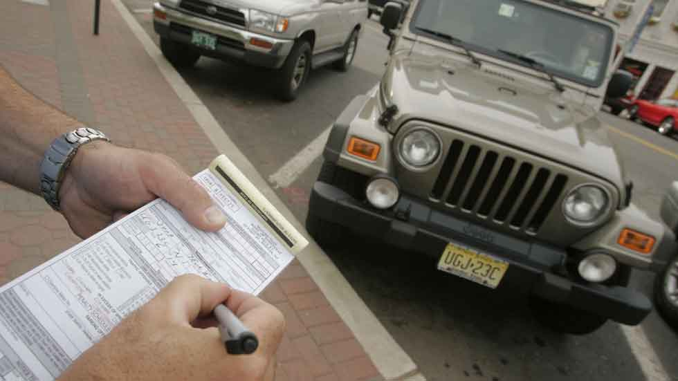 Las 10 multas de tráfico más raras
