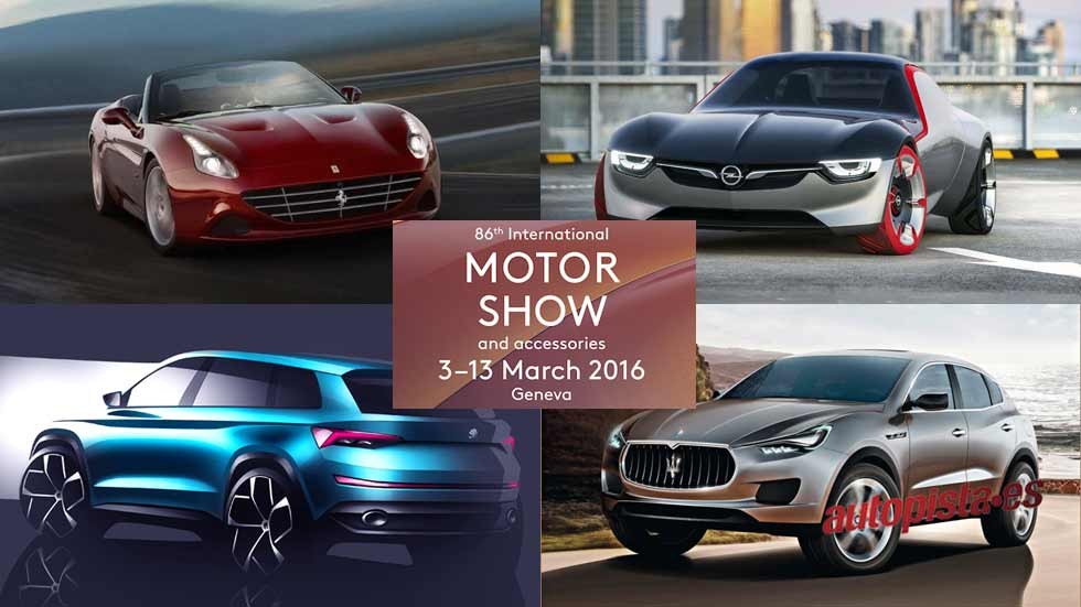 Salón del Automóvil de Ginebra 2016: los coches que amarás
