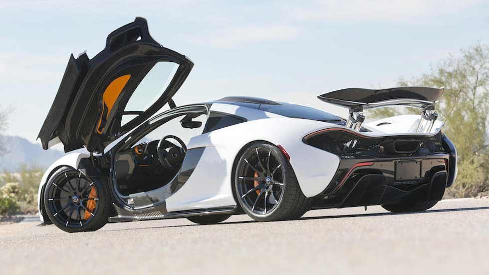 Último McLaren P1 en EE.UU.: subastado por más de 2 millones de dólares