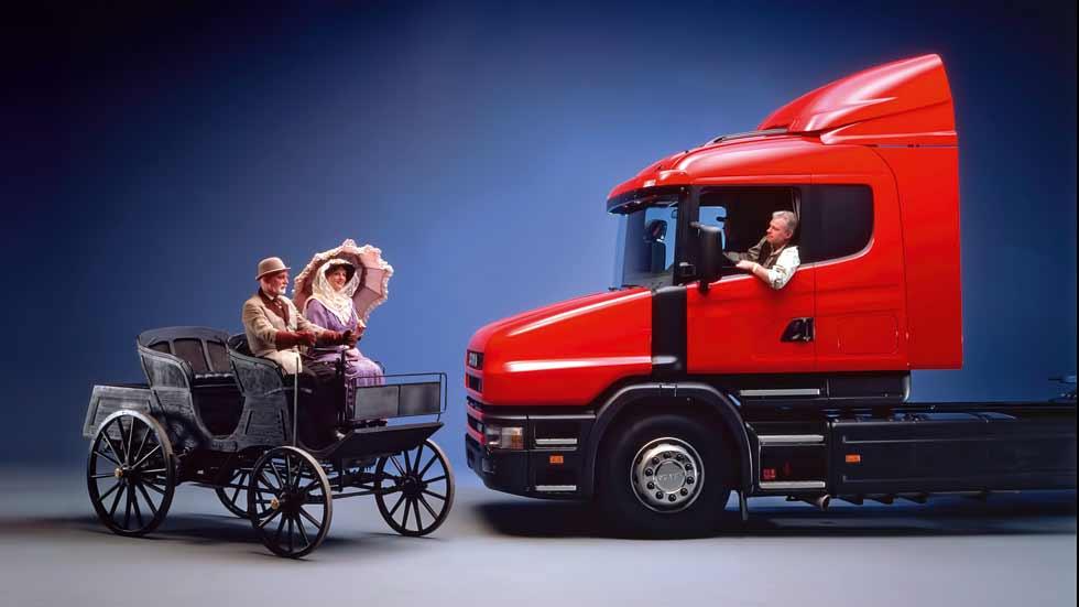Scania cumple 125 años como fabricante de camiones y autobuses