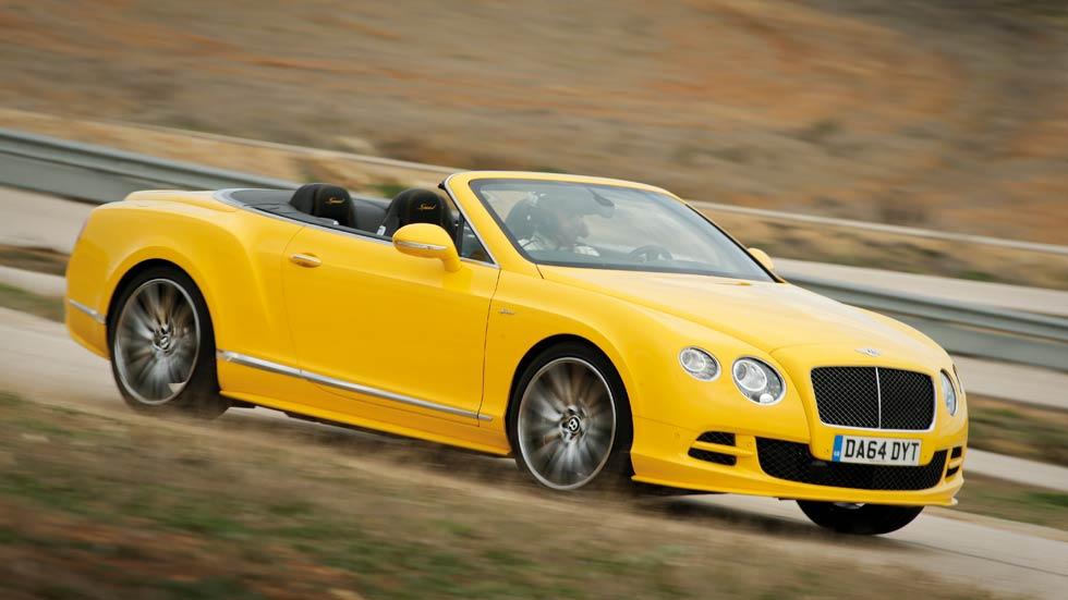 Bentley Continental GTC Speed, el coche descapotable más rápido