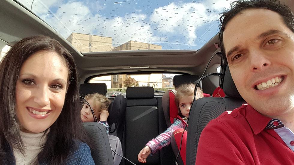 Mi experiencia como padre de gemelos en un Toyota Auris Hybrid