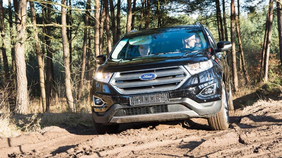 Ford Edge 2016, así se mueve el hermano mayor del Ford Kuga