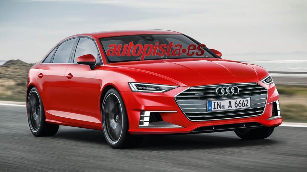 Audi A6: nueva generación lista en 2017