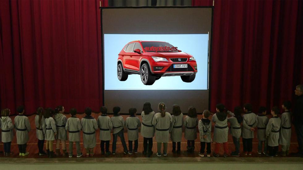 Seat Ateca: así se te quedará la cara cuando veas el nuevo SUV (vídeo)