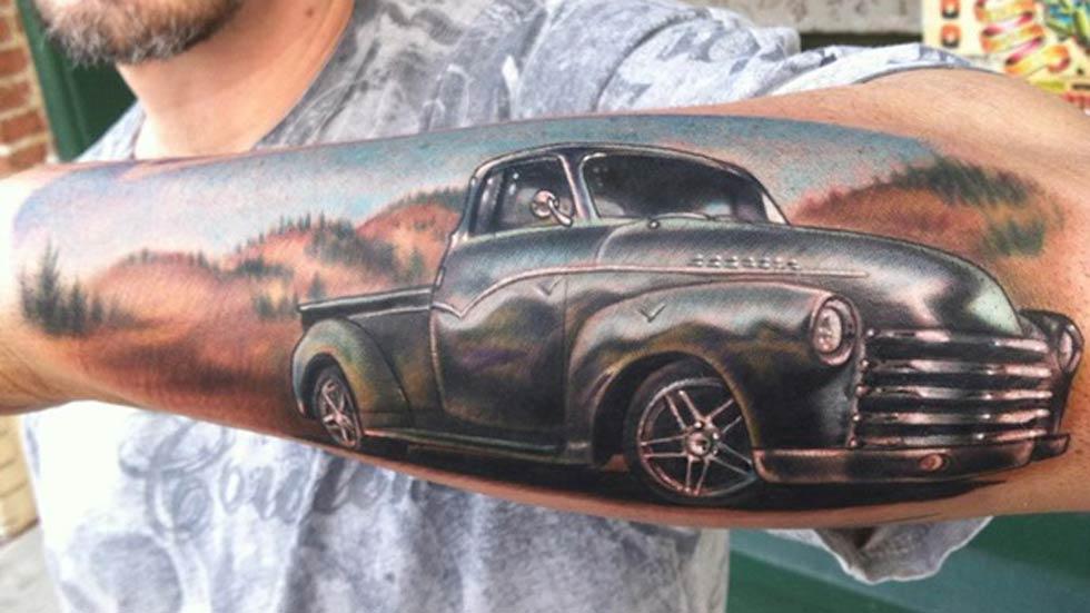 Los mejores tattoos de coches