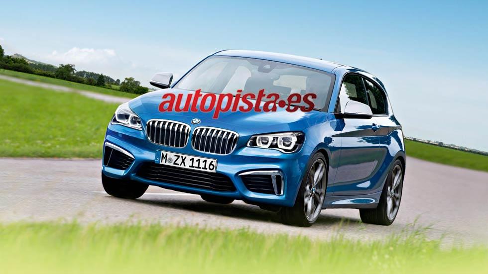 BMW Serie 1, nueva generación en 2017