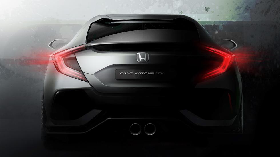 Honda Civic Prototipo: avance de la nueva generación de 2017