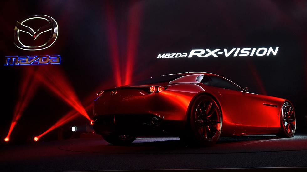 Mazda RX-Vision y las novedades en Ginebra 2016