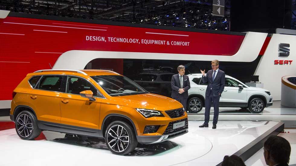 Seat Ateca: fotos y datos oficiales del nuevo SUV