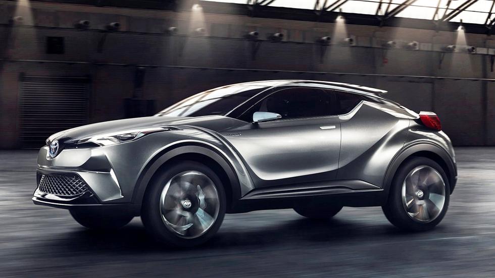 Toyota C-HR de producción: estreno en el Salón de Ginebra 2016