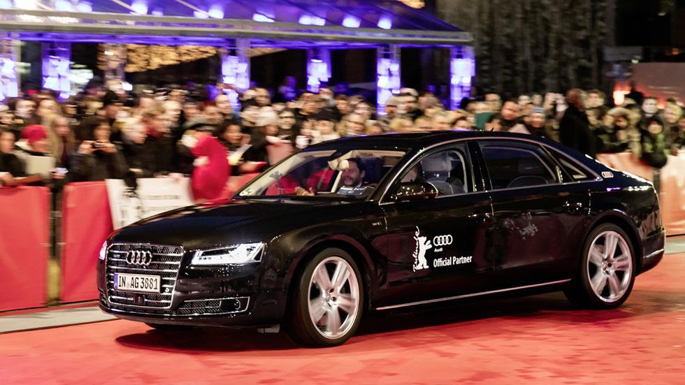 Audi lleva la conducción autónoma al festival de cine de la Berlinale
