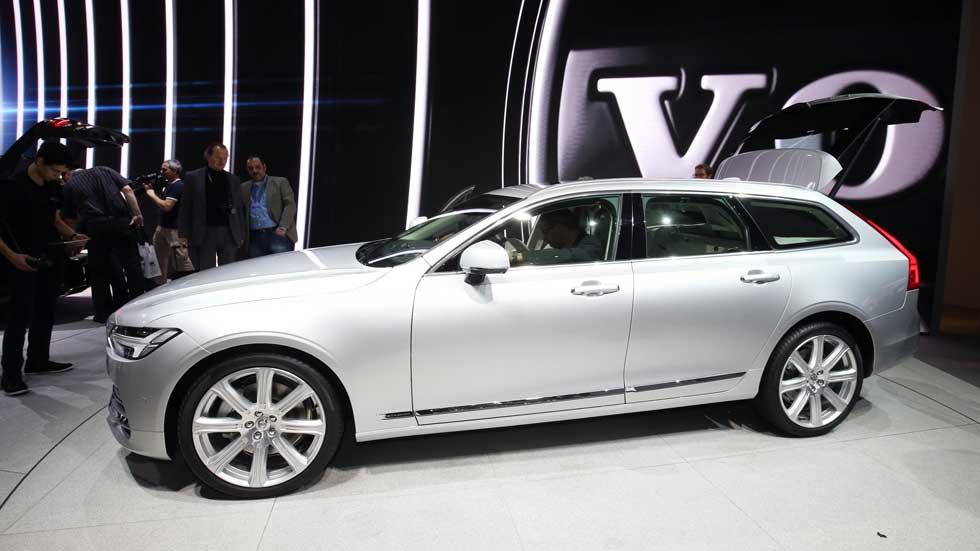 Volvo V90: mucho más que un S90 familiar