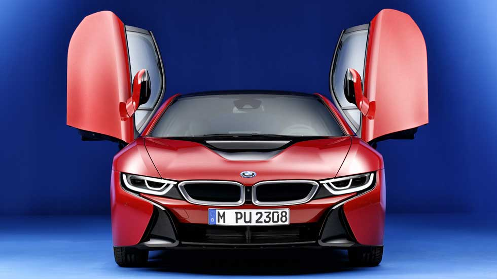 BMW i8 Protonic Red Edition, sutil tuning