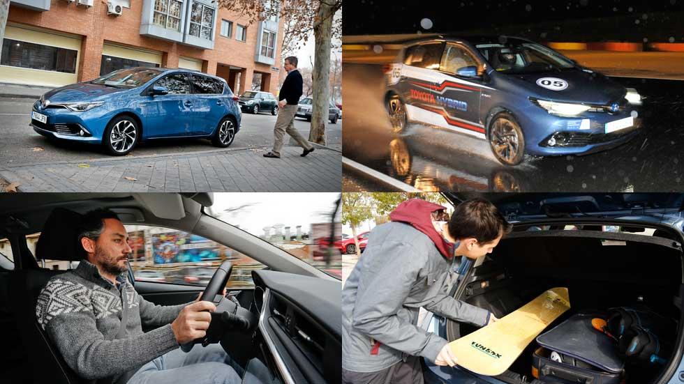 Vídeo-resumen final prueba #EnRodaje con el Toyota Auris Hybrid