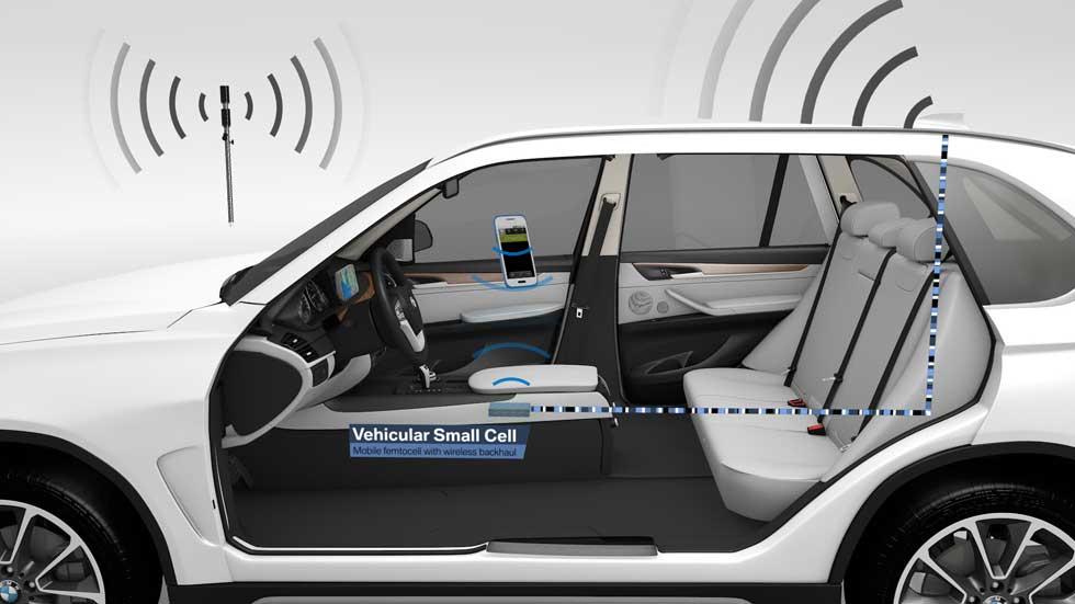 Tu coche se convertirá en una antena de telefonía móvil