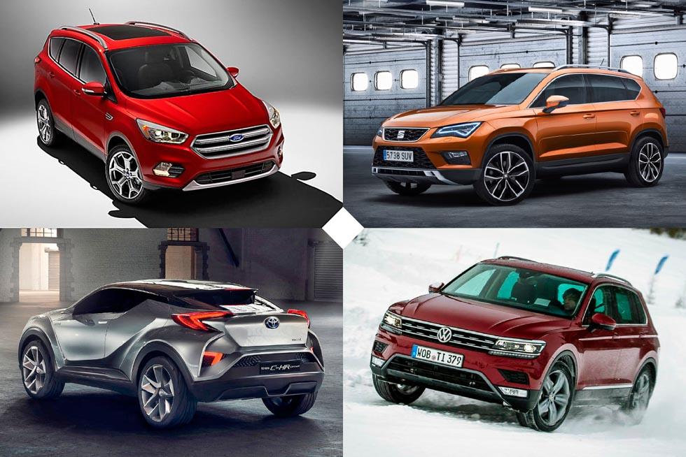 Especial SUV: todas las novedades para comprar en 2016