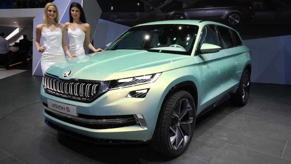 Skoda VisionS, fotos oficiales: ¿el futuro SUV de Skoda?