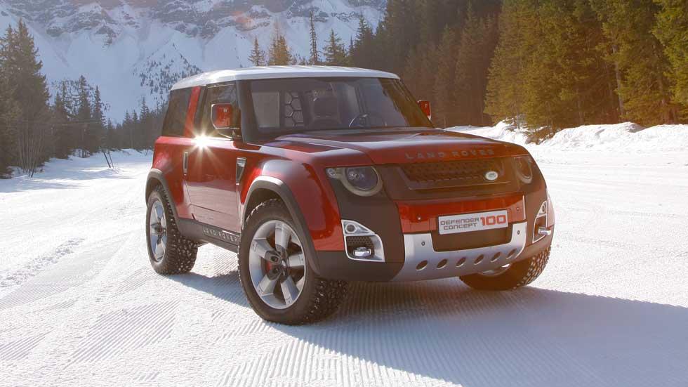 El nuevo Land Rover Defender, listo en 2018