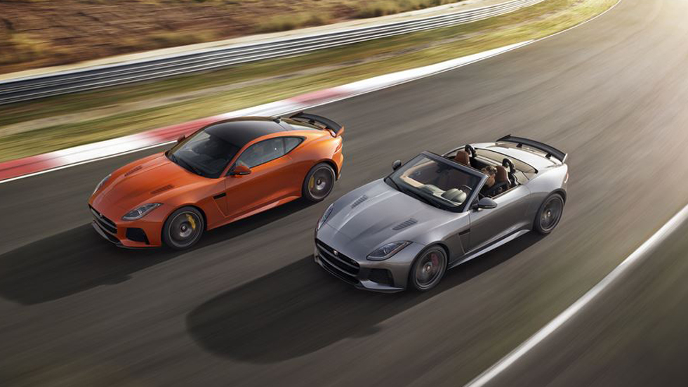 Jaguar F-Type SVR: a la venta el deportivo más rápido de Jaguar