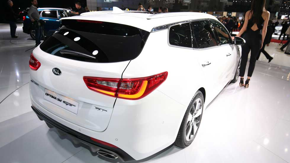 Kia Optima Sportswagon: el gran familiar de Kia, en Ginebra