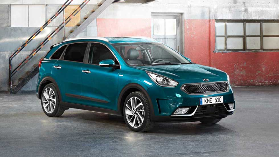 kia niro hybrid suv su versi n europea en ginebra 2016. Black Bedroom Furniture Sets. Home Design Ideas