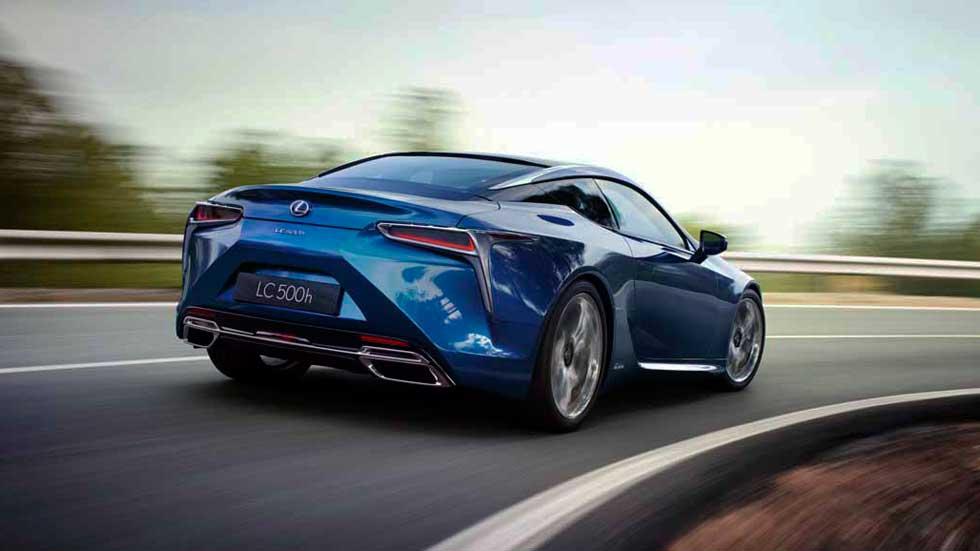 Lexus LC 500h, el nuevo coche superdeportivo híbrido