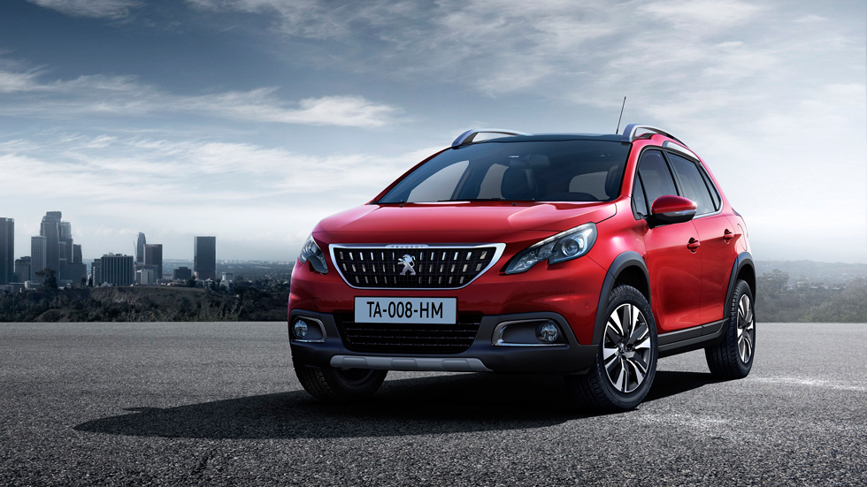 Peugeot 2008 2016, con mejoras para Ginebra