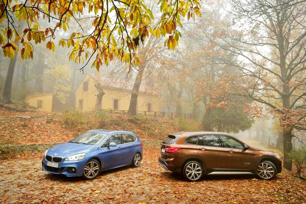 BMW X1 20d xDrive Aut. vs BMW Active Tourer 220d xDrive