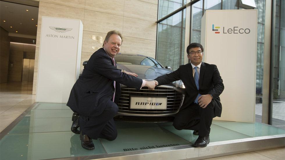 Aston Martin lanzará su primer coche eléctrico en 2018