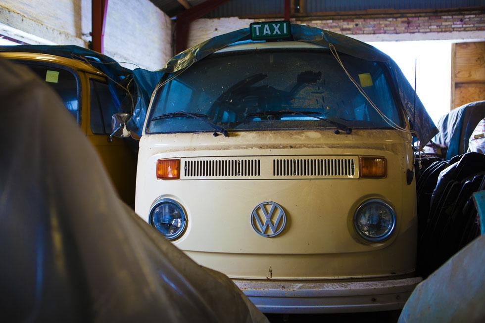 Hallada una colección de coches clásicos en una granja de Dinamarca