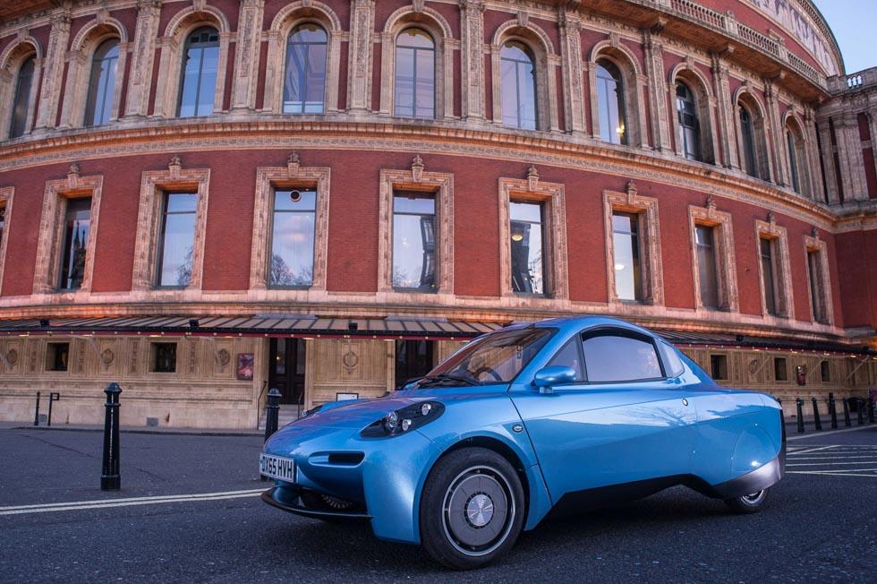 Riversimple Rasa anticipa un coche de hidrógeno a precio asequible