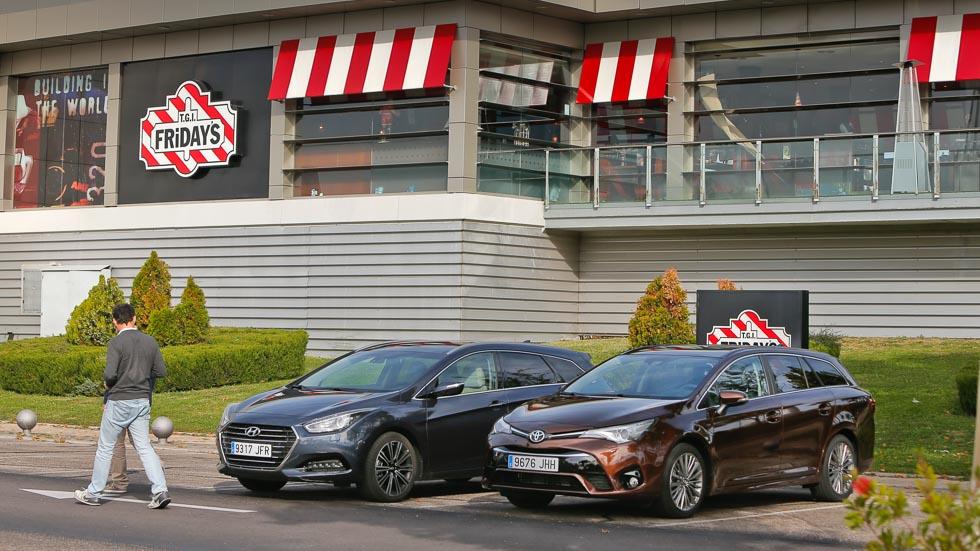 Hyundai i40 CW vs Toyota Avensis Touring Sports: rivales familiares