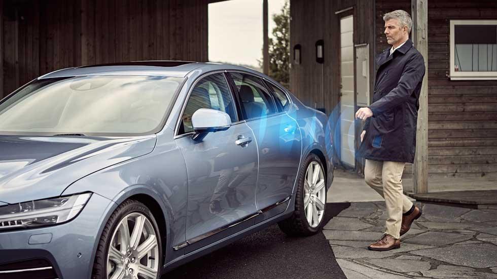 En 2017 el móvil sustituirá a la llave física en los Volvo