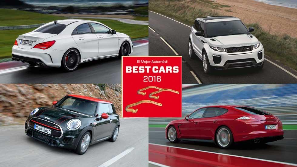 Los coches ganadores en los Premios Best Cars 2016 en España
