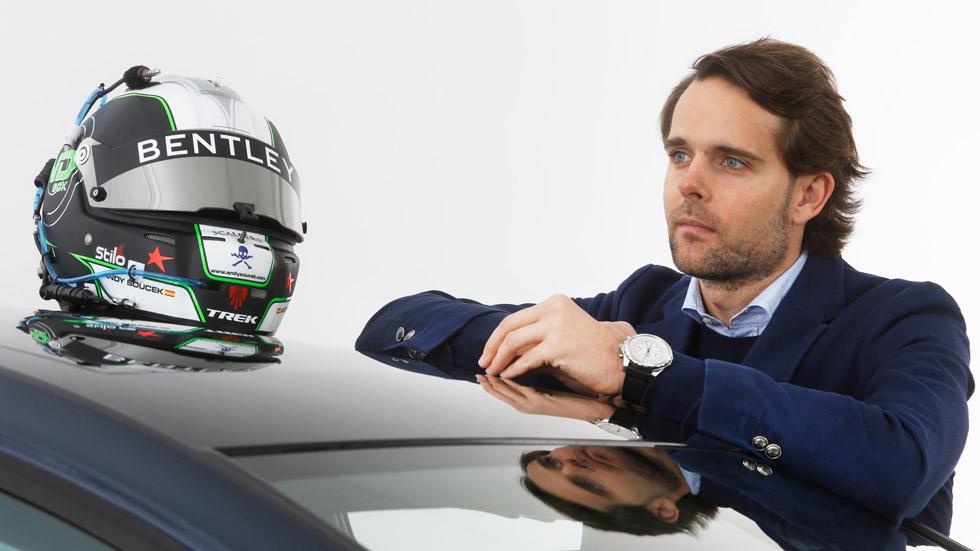 """Andy Soucek, piloto Bentey: """"El objetivo es luchar por ganar las Blancpain"""""""