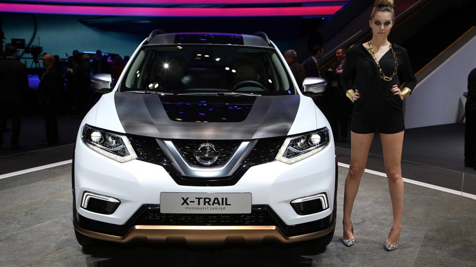 Nissan Qashqai y Nissan X-Trail Premium Concept en Ginebra 2016
