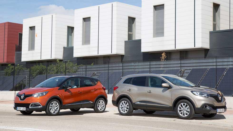 Renault Kadjar o Captur 1.5 dCi. ¿Cuál interesa? Los comparamos