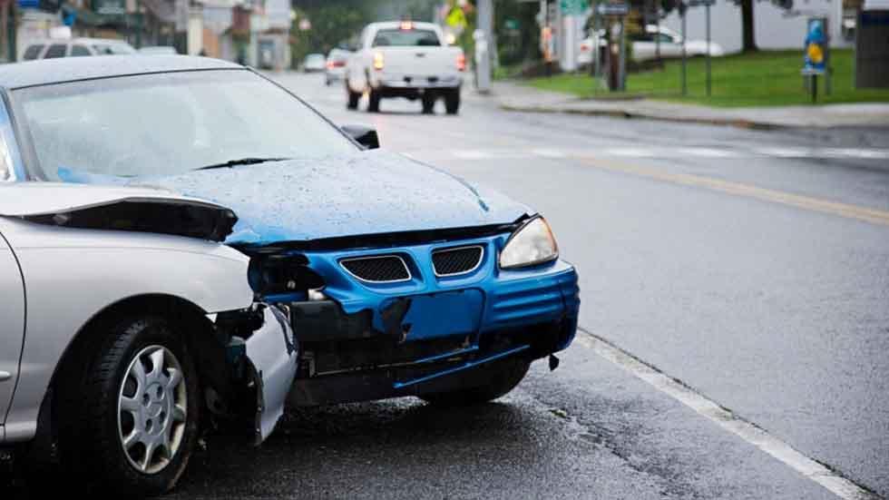 Los accidentes de tráfico leves subieron en 2015