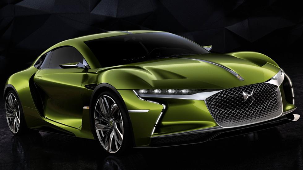 DS E-Tense Concept, un coupé eléctrico de 402 CV