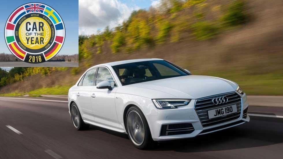 Coche del Año en Europa 2016: así opinan los españoles del Audi A4