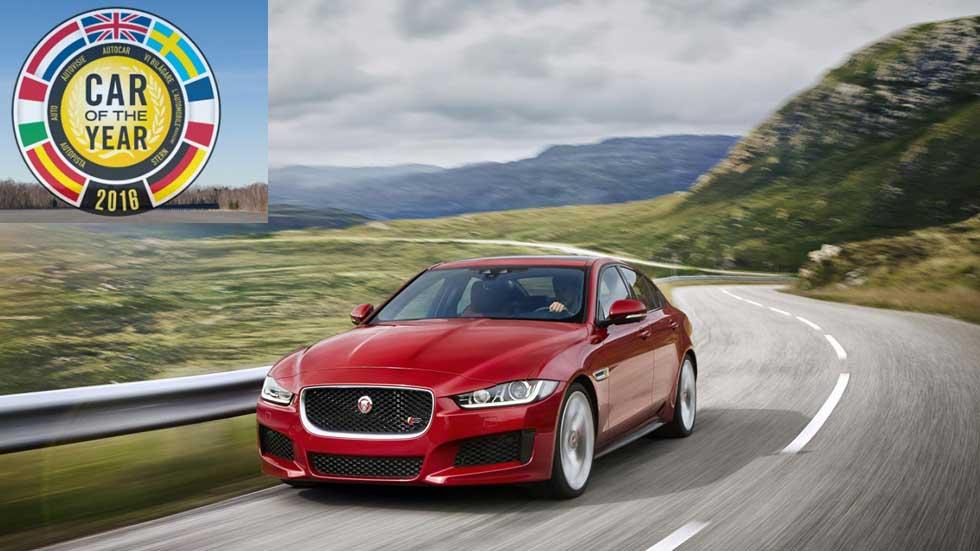 Coche del Año en Europa 2016: así opinan los españoles del Jaguar XE