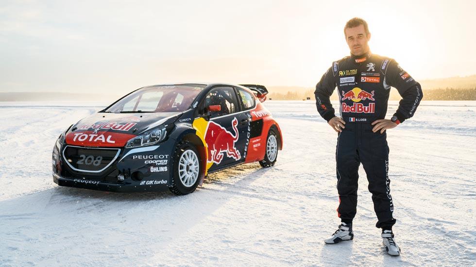 Rallycross 2016: Sebastien Loeb correrá el Mundial con Peugeot