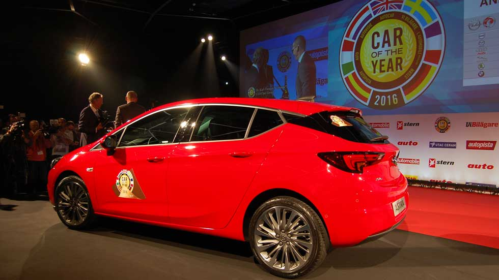 Opel Astra: ganador del Coche del Año en Europa 2016