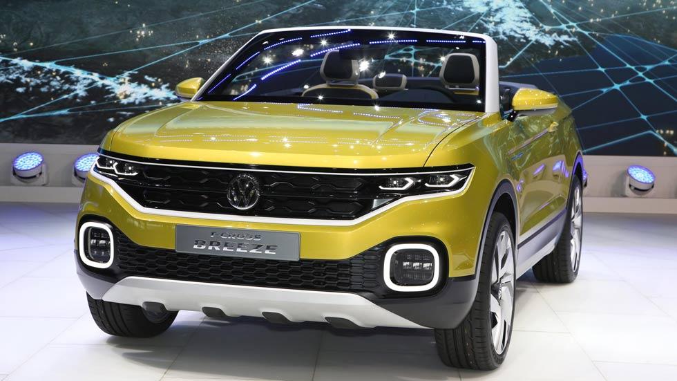 Volkswagen T-Cross Breeze: un Polo SUV y cabrio, en Ginebra