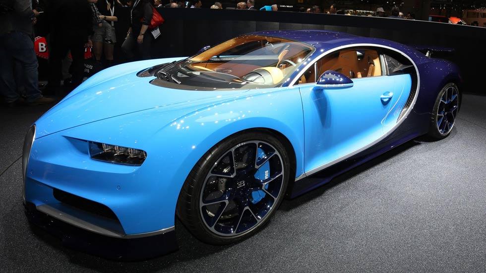 Bugatti Chiron: el Dios deportivo del Salón de Ginebra