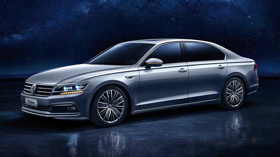 Volkswagen Phideon: nueva concepción del lujo, en Ginebra 2016